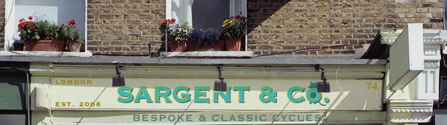 www.sargentcycles.com - Sargent & Co - Bespoke &  Classic Cycles